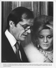 Tommy original 1975 8x10 photo Jack Nicholson in suit with Ann-Margret