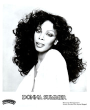 Donna Summer 8x10 photo Casablanca Records promotional