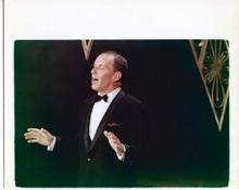 Frank Sinatra original 8x10 photo scene clip singing fromhis 1960's TV series