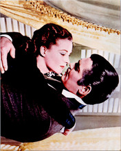 Gone With The Wind vintage 8x10 photo from 1990's Clark Gable Vivien Leigh kiss