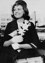 Deborah Walley original 1962 8x10 smiling photograph Bon Voyage movie