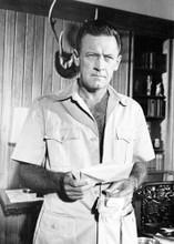 William Holden in safari jacket original 8x10 photo The Seventh Dawn 1965