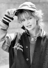 Goldie Hawn in baseball jacket 1986 Wildcats original 8x10 photo