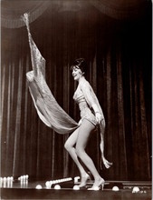 Gypsy 1962 original 8x10 real photograph Natalie Wood stripping on stage