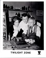 The Twilight Zone original 1980's video release 8x10 photo Burgess Meredith