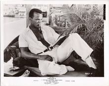 Island in the Sun original 1957 8x10 photo Harry Belafonte smoking pipe