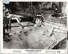 Audrey Hepburn cute lying in bubble bath Paris When it Sizzles 8x10 original