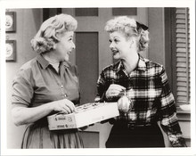 I Love Lucy vintage 8x10 photograph Lucille Ball Vivian Vance with Christmas