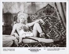 Duchess and Dirrtwater Fox original 1976 8x10 photo Goldie Hawn in stockings