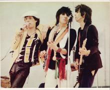 The Rolling Stones original 8x10 press photo in concert circa 1970's Jagger