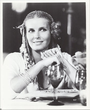 Bo Derek beautiful 8x10 photograph with braided hair from 10