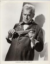Corridors of Blood original 1958 8x10 photo Boris Karloff with dagger