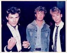 A-Ha 1980's Norwegian pop group vintage 8x10 press photo