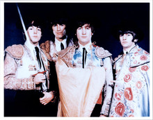 The Beatles vintage 1970's 8x10 photo of the Fab Four in military style outfits