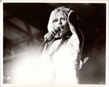 Deborah Harry vintage 1970's 8x10 photo in concert Blondie