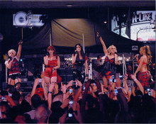 The Pussycat Dolls on stage performing 8x10 concert press photo