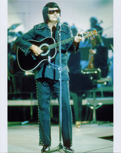 Roy Orbison The Big O full length pose performing on stage 1980's 8x10 photo