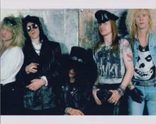 Guns n'Roses 1980's 8x10 photo  Axl Rose and the boys classic line-up