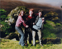 Harry Potter 8x10 photo Emma Watson Rupert Grint Daniel Radcliffe cling together