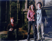 Harry Potter Daniel Radcliffe Emma Watson Rupert Grint 8x10 photo old building