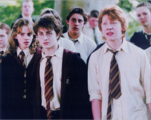Harry Potter 8x10 photo Daniel Radcliffe Emma Watson Rupert Grint at Hogwarts