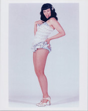 Lucy Lawles full length pose as Bettie Paige 8x10 photo