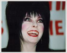 Elvira 1980's 8x10 press photo smiling attending event