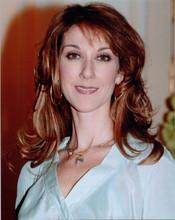 Celine Dion 8x10 press photo in white top circa 1990's
