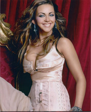 Charlotte Church smiling pose in busty low cut dress 8x10 photo