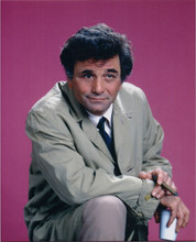 Peter Falk as Columbo 8x10 studio portrait holding cigar