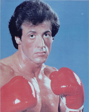 Sylvester Stallone Rocky II 8x10 studio portrait with boxing gloves