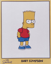 The Simpsons TV series 8x10 photo Bart Simpson classic pose