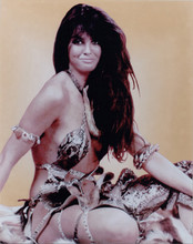 Caroline Munro At The Earth's Core publicity shoot in sexy outfit 8x10 photo