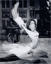 Diana Rigg The Avengers TV series 8x10 photo Mrs Peel does veil belly dance