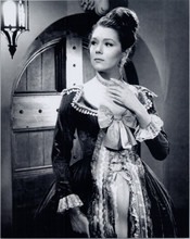 Diana Rigg as Emma Peel in period costume The Avengers TV series 8x10 photo