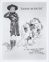 Donald Duck Huey Dewey & Louie Good Scouts promotional 8x10 photo