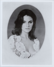 Jacqueline Bissett beautiful portrait with huge cleavage 1970's 8x10 photo
