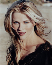 Reese Witherspoon beautiful smiling portrait in black dress 8x10 photo