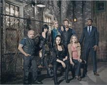 Lost Girl TV series 2012 cast Anna Silk with regulars 8x10 photo
