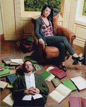 Elementary TV series Jonny Lee Miller Lucy Liu as Holmes & Watson 8x10 photo