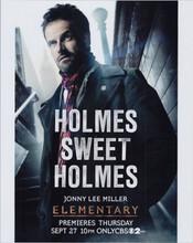 Elementary TV series Jonny Lee Miller as Sherlock Holmes 8x10 photo