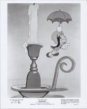 Pinocchio original re-release Disney 1971 8x10 photo Jiminy Cricket umbrella
