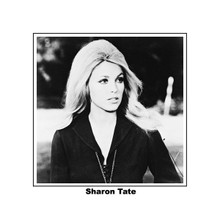 Sharon Tate in black bouse & necklace Valley of the Dolls 8x10 photo