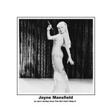 Jayne Mansfiled in sexy see-thru dress full length pose 8x10 photo