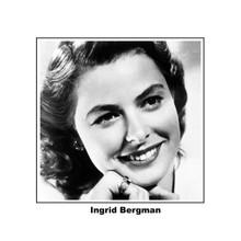Ingrid Bergman classic smiling portrait as Ilsa from Casablanca 8x10 photo