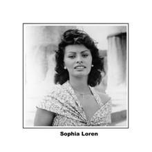 Sophia Loren beautiul smiling 1950's portrait 8x10 photo