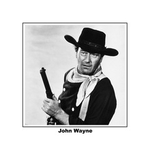 John Wayne as Ethan holding rifle The Searchers 8x10 photo