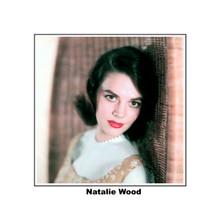 Natalie Wood beautiful 1960's studio portrait pose 8x10 photo with name printed