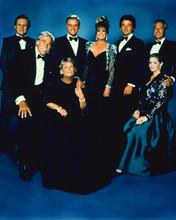 Dallas TV series 8x10 photo cast in formal wear Hagman Duffy Gray Keel Howard