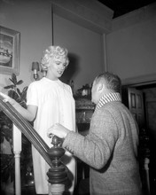 The Seven Year Itch 1955 movie on set Billy Wilder Marilyn Monroe 8x10 photo